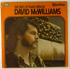 "12"" LP - David McWilliams - The Days Of Pearly Spencer - B2294"