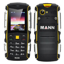 MANN ZUG S Rugged Phone (Yellow) Cell Phones