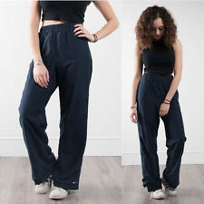 VINTAGE 90'S NIKE SHELL TRACKSUIT BOTTOMS TROUSERS HIGH WAIST RETRO GYM JOG 14