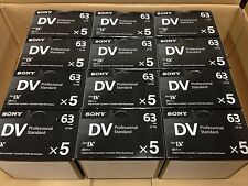 Sony DVM63PS Mini DV Minidv Camcorder Video 63min Professional Tape - 60 Pack