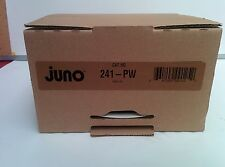 Single Juno Lighting 241-PW 6-Inch Drop Opal with Reflector 3 Available IECC