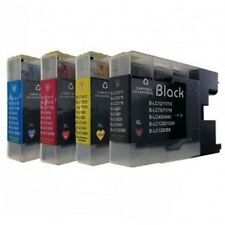 4 Ink for Brother mfc J430W,mfc-J430W,mfc j525W LC-1220 LC1240 LC1280
