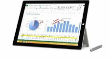 Microsoft Surface Pro 3 256GB Silver Intel Core i5 Tablet - VG - Windows 8