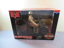 "GI JOE 12"" 1:6 WWII US Army MP Military Police Harley Davidson Motorcycle NEW"