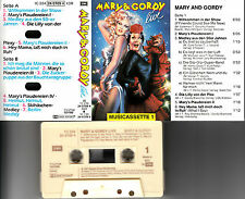 MARY & GORDY - Live ★ MC Musikkassette