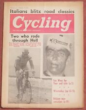 4-23-66 CYCLING MAGAZINE BICYCLE BICYCLES CYCLE CYCLES BIKE BIKES SID LOVATT