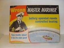 Vintage Wrenn MASTER MARINER - Remote Control Boat Set - in Original Box