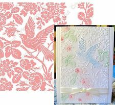 Cuttlebug Embossing folders AVIARY Anna Griffin folder set Animals,bird,flowers