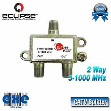 Eclipse 902-369 2 Way CATV Splitter 5-1000 MHz