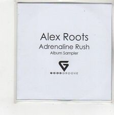 (FS125) Alex Roots, Adrenaline Rush sampler - DJ CD