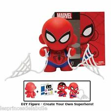 MINI MUNNY DIY MARVEL 10cm / 4-inch SPIDERMAN Figure KIDROBOT MUNNYWORLD