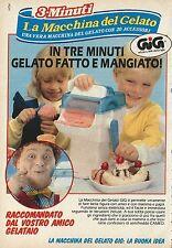 X4203 La macchina del gelato GIG - Pubblicità 1989 - Advertising