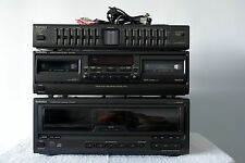 Technics SL-MC59 60+1 CD Changer, RS-TR180 Cassette Deck, SH-GE50 Graphic EQ