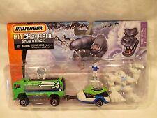 Matchbox Hitch N Haul 2007 Snow Attack NIB