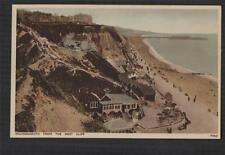 BOURNEMOUTH  from West Cliff. vintage colour unused postcard zc.27