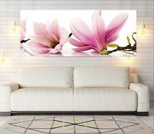 """Glasbild, Bild aus Glas, 125 x 50 cm Motiv""""0102_Blumen"""""""