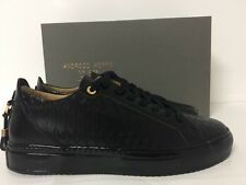 ANDROID HOMME SCARPE UOMO ALFA LOW MADE IN ITALY PYTHON BLACK COLL 2017 N 43