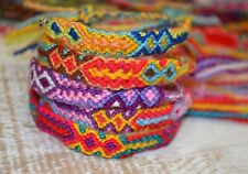 FRIENDSHIP BRACELETS Wholesale Bulk 40 Woven Nylon Wristband FAIR TRADE GIFTS