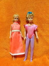 1967 SUN MALIBU SKIPPER & Gymnast SKIPPER - Lot Of 2 Vintage Skipper Doll