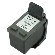 Remanufactured Ink Cartridges for HP 27 C8727A Black for HP Deskjet 3320 3322