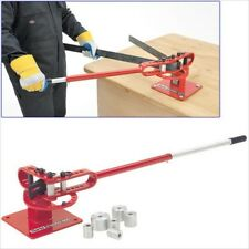 HEAVY DUTY MANUAL BENCH MOUNTED MOUNT STEEL PIPE AND TUBING BENDER BENDING TOOL