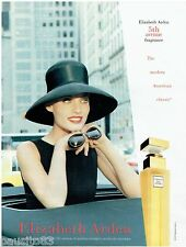 PUBLICITE ADVERTISING 115  1997  ELISABETH ARDEN   parfum femme 5 TH AVENUE