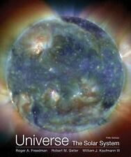 Universe the Solar System by Roger A. Freedman Paperback 5th Edition Book