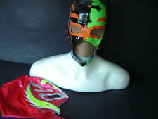"LOT 2 YOUNG ""REY MYSTERIO"" WRESTLING MASKS MADE OF SPECIAL FABRIC youth SIZE FRE"