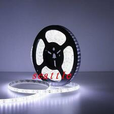 5M Super Bright 3014 LED Strip 600leds 120led/m SMD Cool White Waterproof 12V