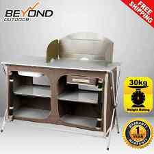 *BRAND NEW* Oztrail Camping Camp Kitchen Deluxe Sink Table Gear Equipment BBQ