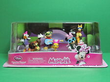 MINNIE MICKEY rock star Coffret 6 PVC figurine Set Playset Disney Store