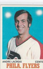 1970-71 TOPPS HOCKEY ANDRE LACROIX CARD #84