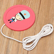Cartoon Creative USB Silicone Heat Warmer Heater Milk Tea Coffee Mug Hot Drinks