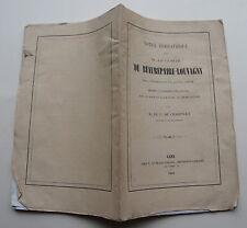 CHARENCEY Cte de:.... sur M. Le Comte De Beaurepaire - Louvagny, 1864