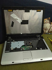 1 SCOCCA NOTEBOOK TOSHIBA SATELLITE EQUIUM A A100 + SCHEDA MADRE + CERNIERE PC