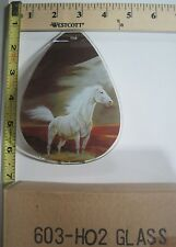 FREE US SHIP ok touch lamp replacement glass panel sm White Horse 603 HO2