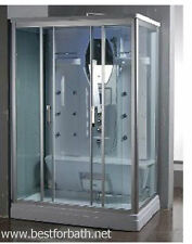 Two  Person Steam Shower Cabin ,Aromatherapy, Bluetooth,US Warranty