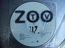 "U2 -""ZOO STATION""- AMERICAN PROMO ONLY PICTURE DISC (NORTH AMERICAN TOUR 1992)"