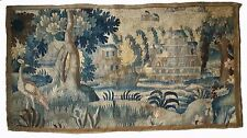 A Beautiful Antique Tapestry Verdure with Large Bird