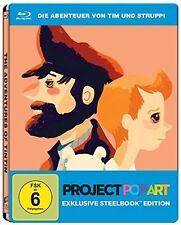TIM UND STRUPPI: DAS GEHEIMNIS DER EINHORN (Blu-ray Disc, Steelbook) NEU+OVP