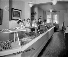 Photograph  Vintage Ben Franklin Candy Store Washington DC 1921c  8x10