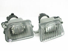 Pair Big Bumper PROJECTOR Clear Fog Light FOR VW 1985-1992 GOLF II / JETTA MK2