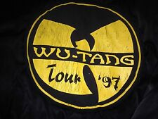 Wu-Tang Forever Wu Wear 1997 Concert Tour Roadie Jacket Extremely Rare !!!!!