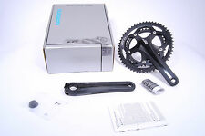 Shimano 105 Crankset FC-5700 53/39t 2x10-Speed 175mm Cranks, Black