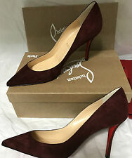 NIB Authentic Christian Louboutin Apostrophy 85  Suede Heels Shoes 39.5  9  $675