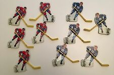 VTG 1964 Eagle Toys NHL Hockey Stars Table Top Game Metal Player Pieces