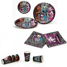 MONSTER HIGH - BIRTHDAY AND PARTY TABLEWARE PACK FOR 5 CHILDREN