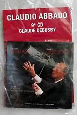 (CD musica) CLAUDIO ABBADO Claude Debussi (La Repubblica - L'Espresso) NUOVO