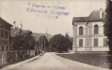B76242 Edmond Bognar Cigares et tabaco Switzerland city Fleurier see