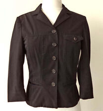Prada Sleek Back Button Front Jacket Italy - 38